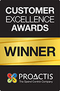 Proactis excellence awards winner
